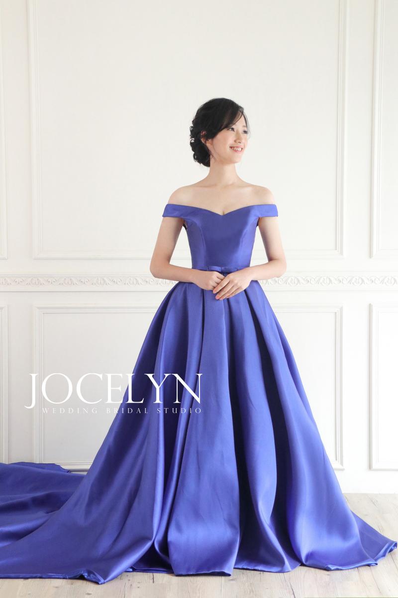 禮服出租,婚紗包套,婚紗推薦,婚紗攝影,藍色禮服
